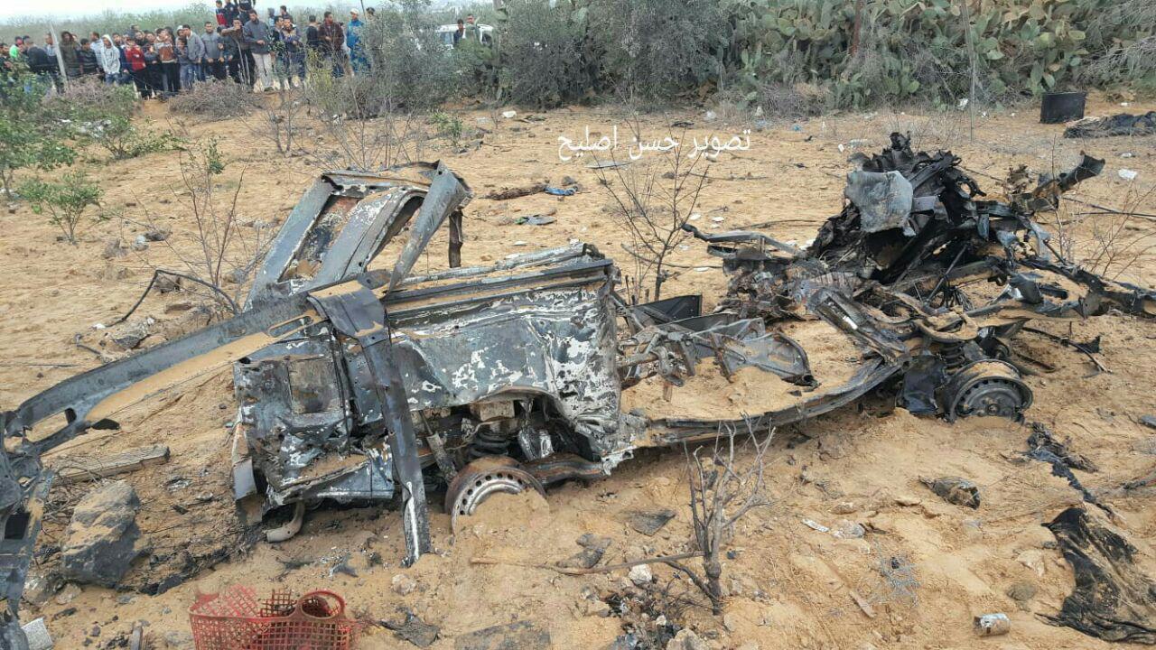 """הרכבים שהופגזו על ידי צה""""ל לאחר התקרית"""