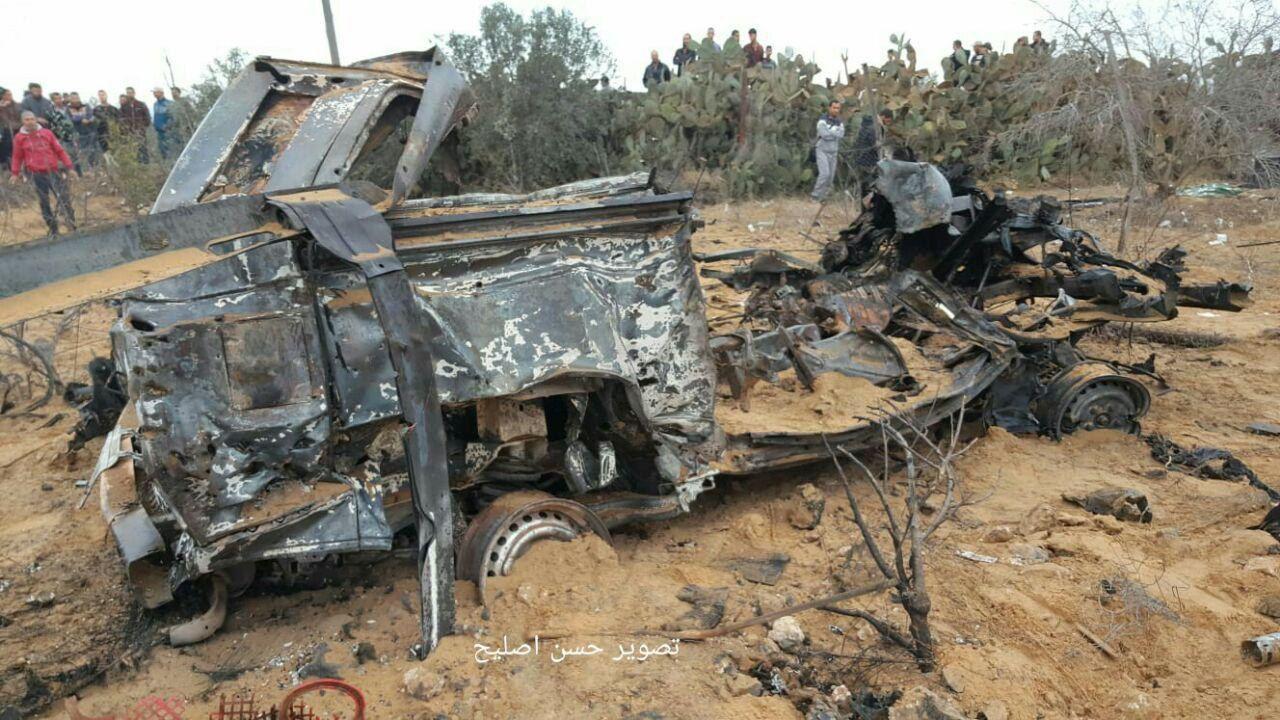 רכב הכח הישראלי, שהשמיד חיל האוויר בתקרית