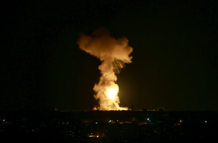 הפצצות בעזה | אילוסטרציה