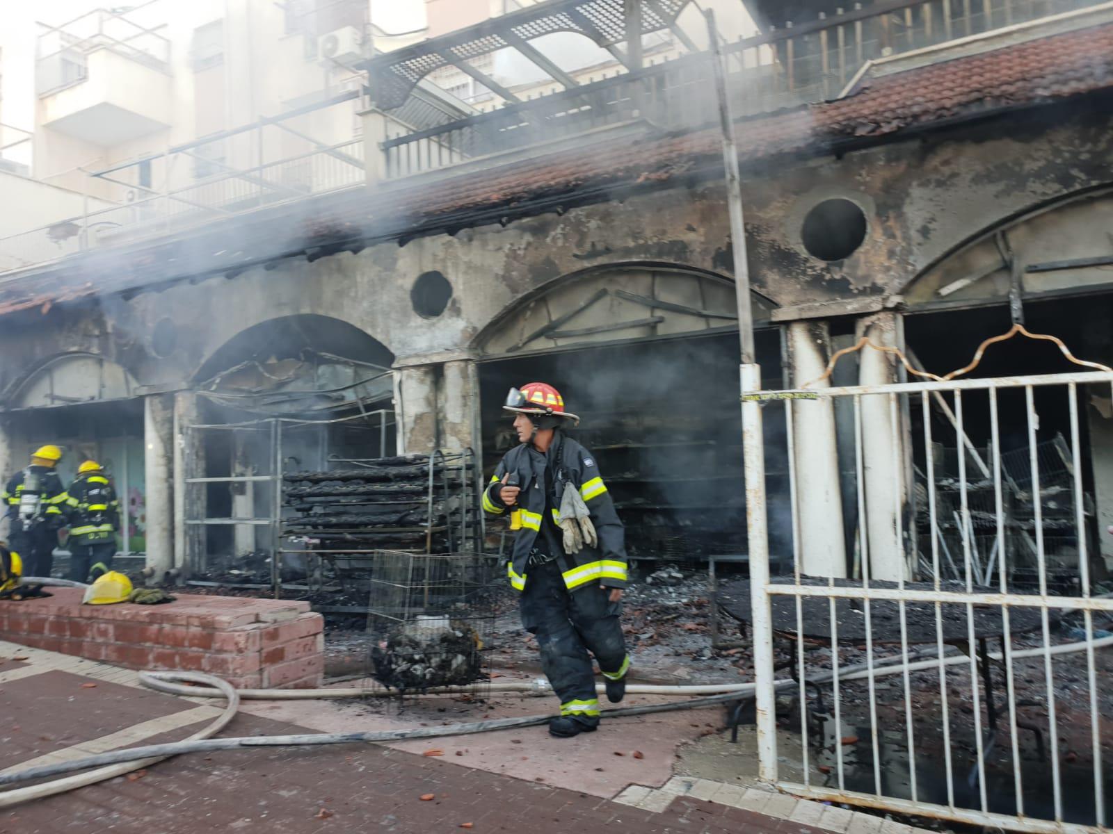השריפה בבית שמש
