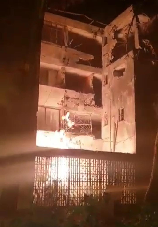 ההרס הרב בבניין