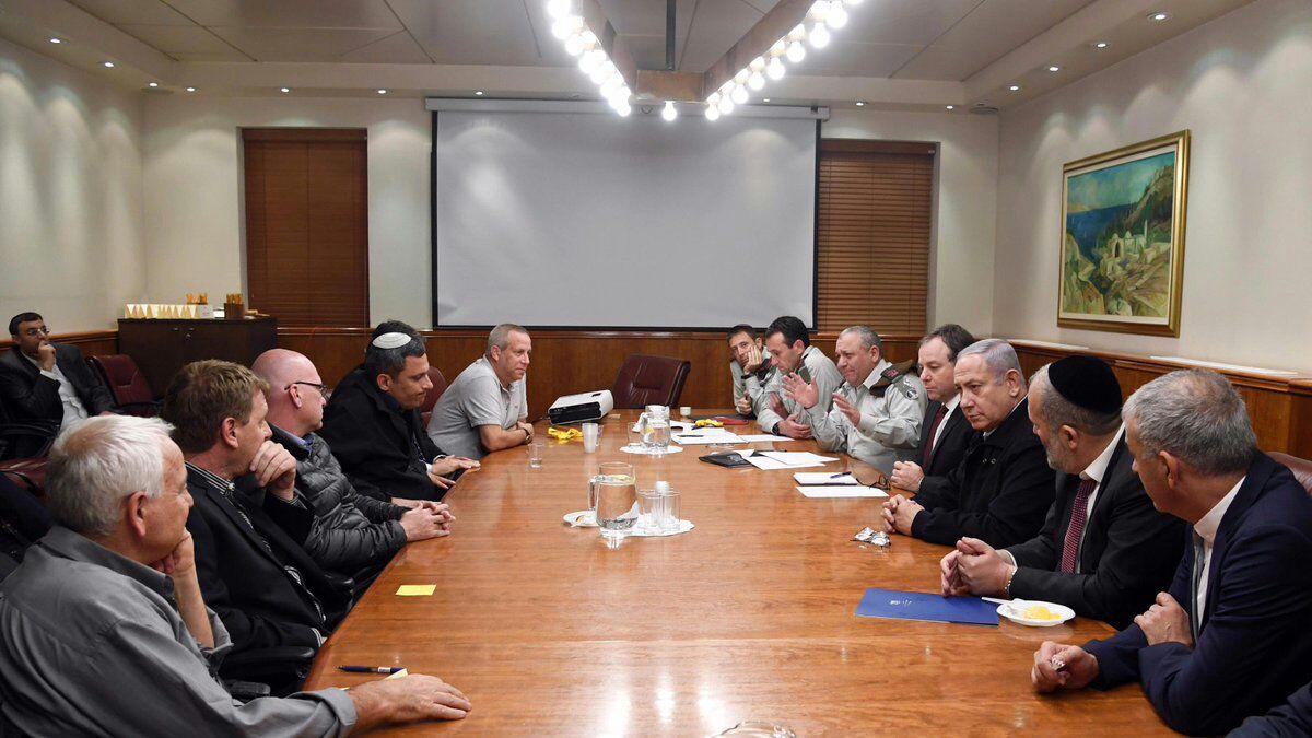פגישת ראשי הרשויות עם נתניהו