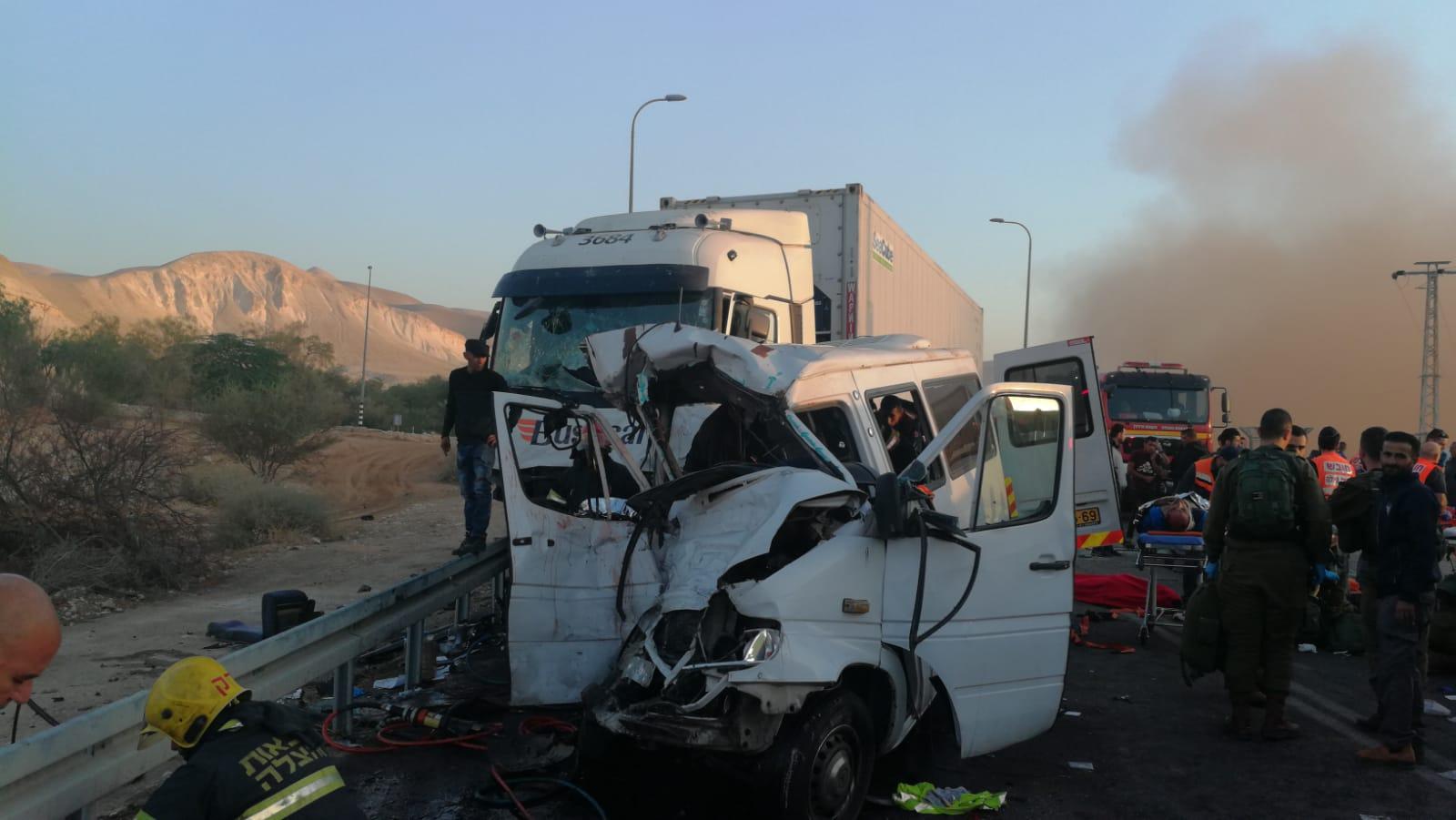 תאונה כביש 90