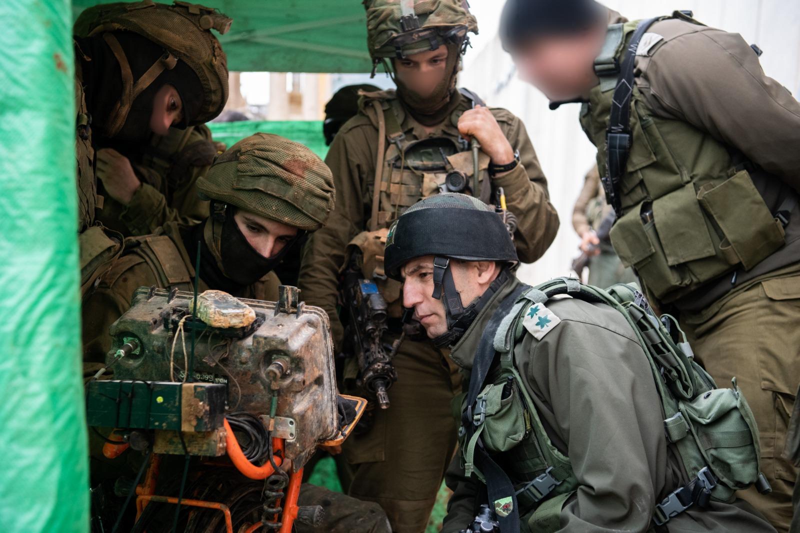 חיילים צפ מנהרה