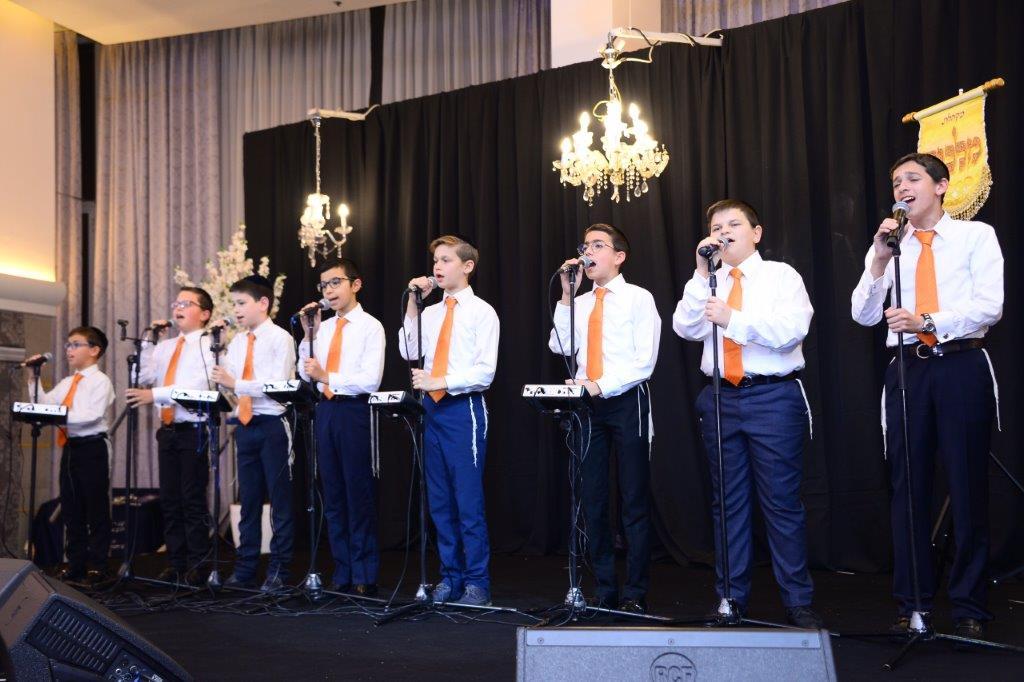 מקהלת הילדים שיר הלל