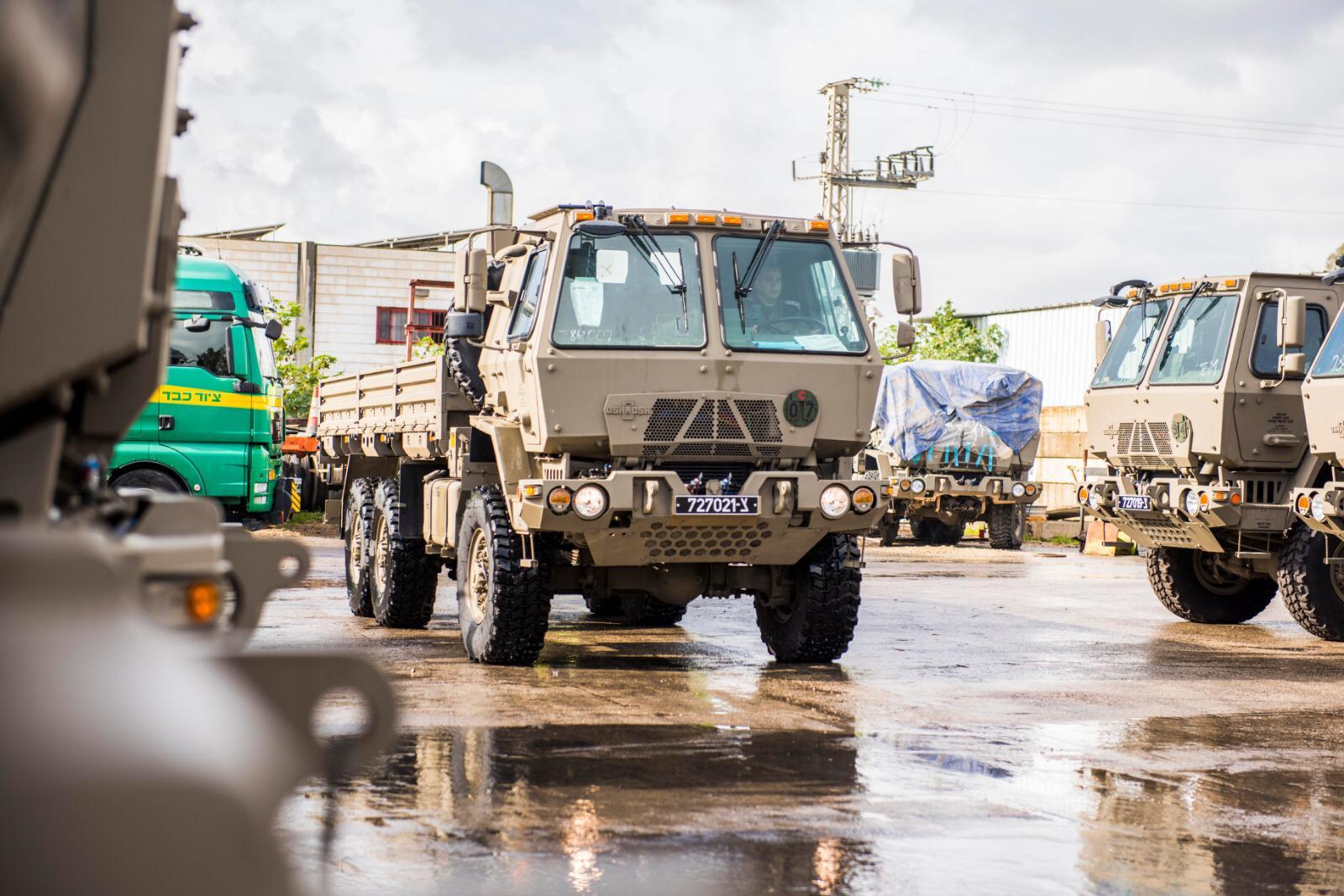 רכב צבאי • אילוסטרציה