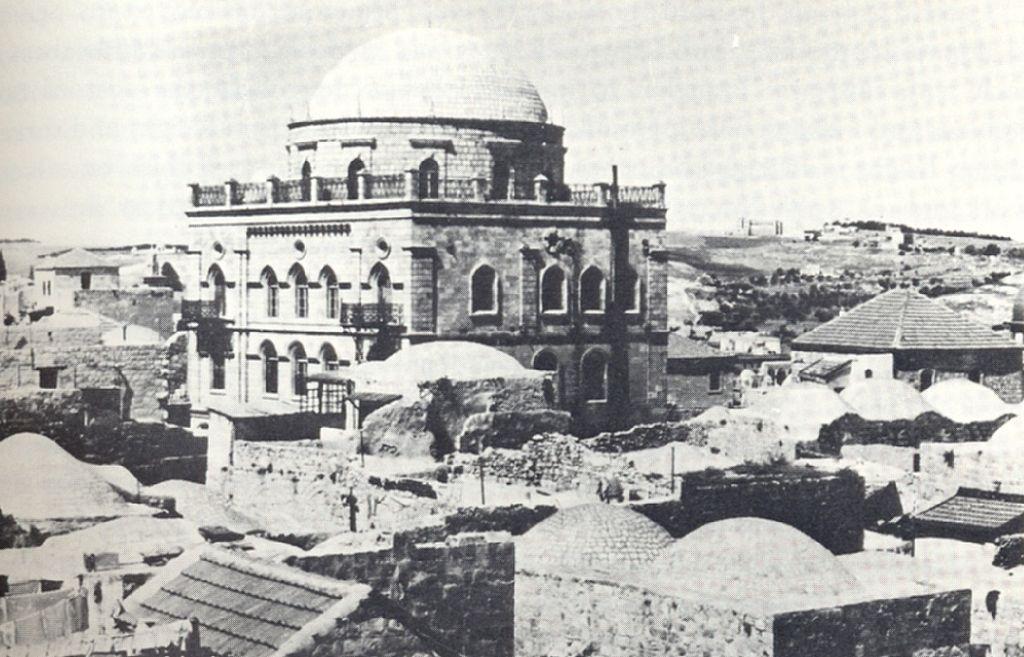 בית הכנסת עומד על תילו לפני כ-150 שנה