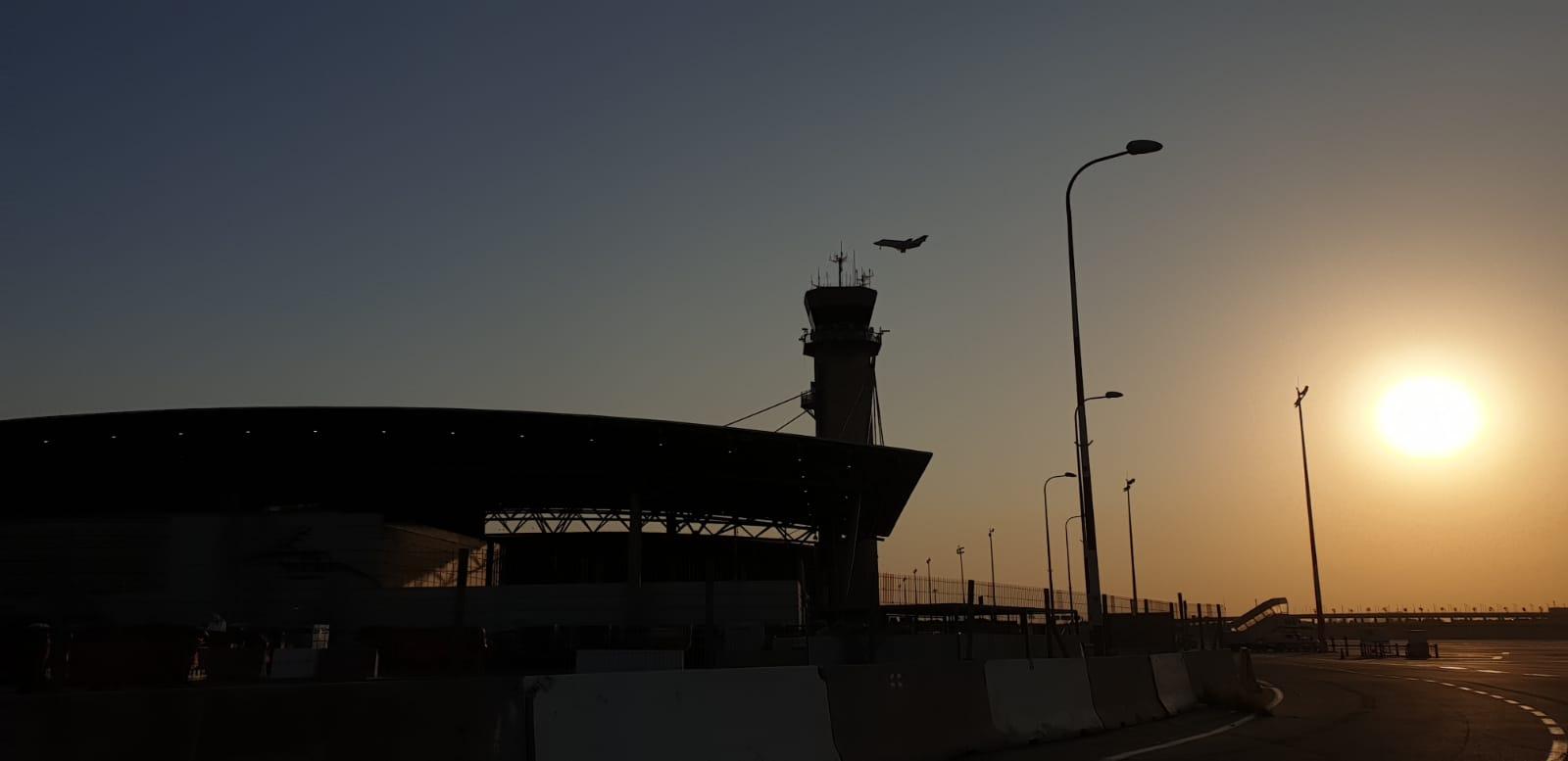 """המטוס מעל נתב""""ג"""