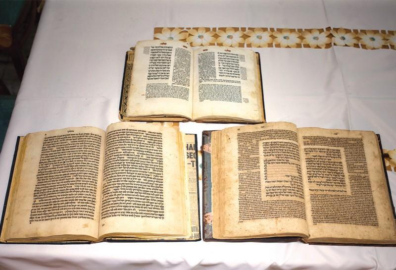 הספרים שהוצגו בכנסת