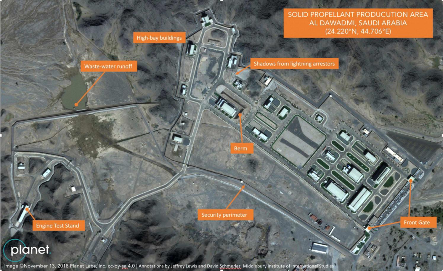 בסיס הטילים הסעודי הסודי