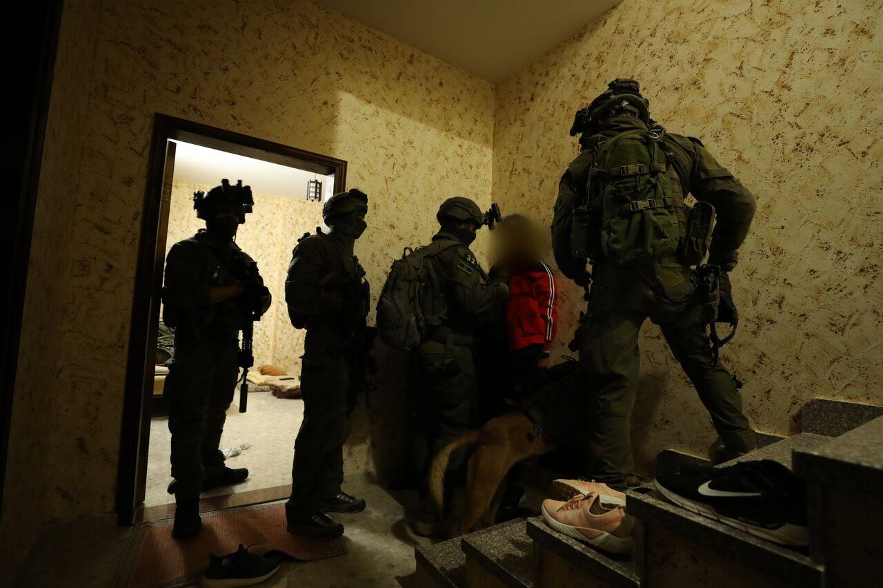 לכידת המחבל בידי כוחות הביטחון