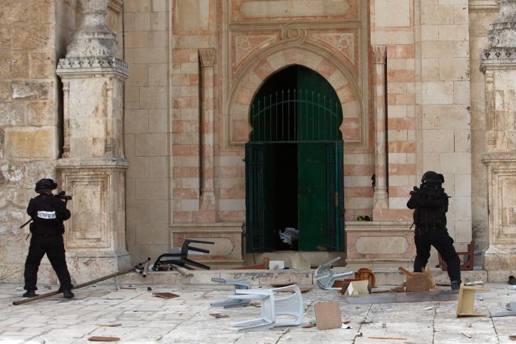 התפרעויות הערבים בהר הבית