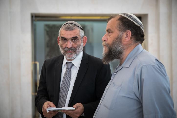 מיכאל בן ארי ובנצי גופשטיין מעוצמה יהודית