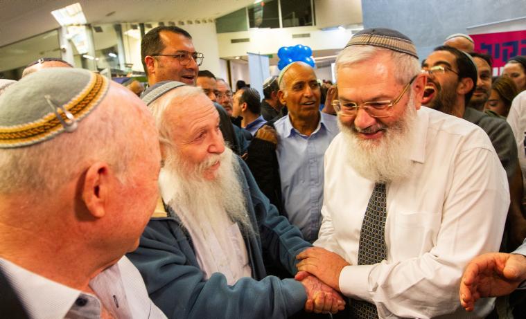 הגאון הגדול הרב חיים דרוקמן בישיבת מרכז הבית היהודי