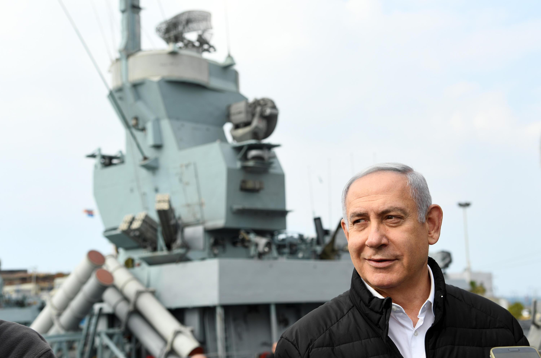 ראש הממשלה בביקורו בבסיס חיל הים היום