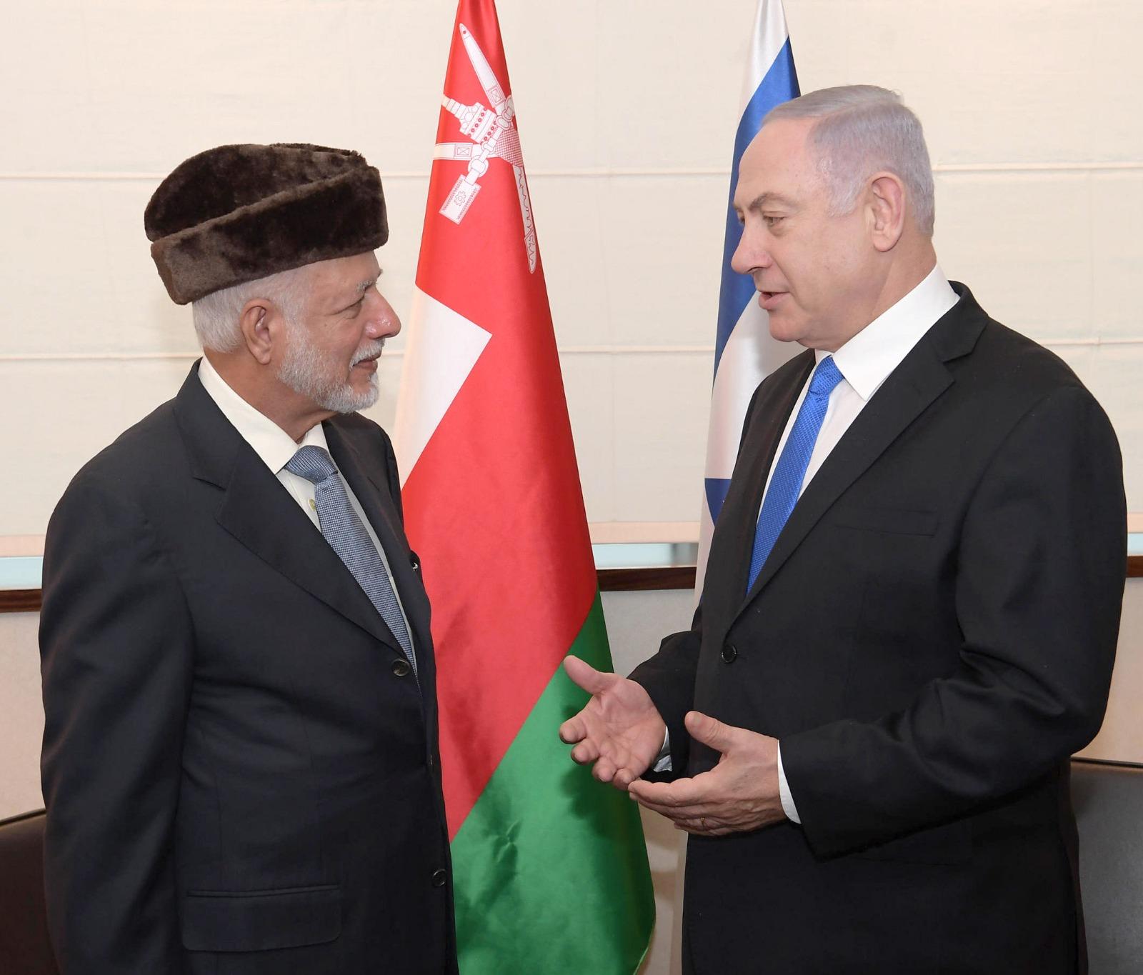 ראש הממשלה בפגישה עם שר החוץ של עומאן