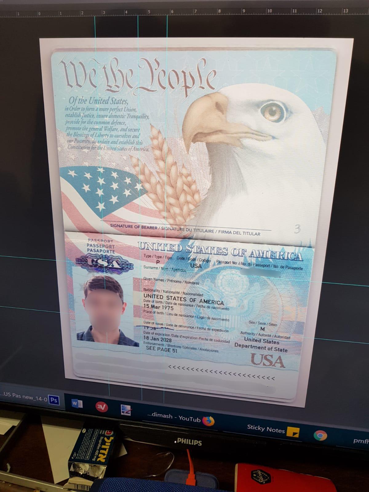 זיוף דרכון