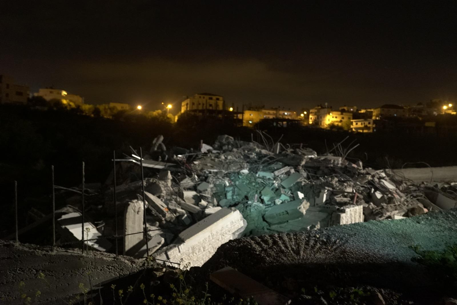 הרס בית ברגותי