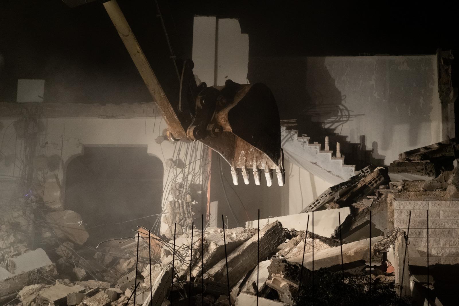 הרס בית מחבל