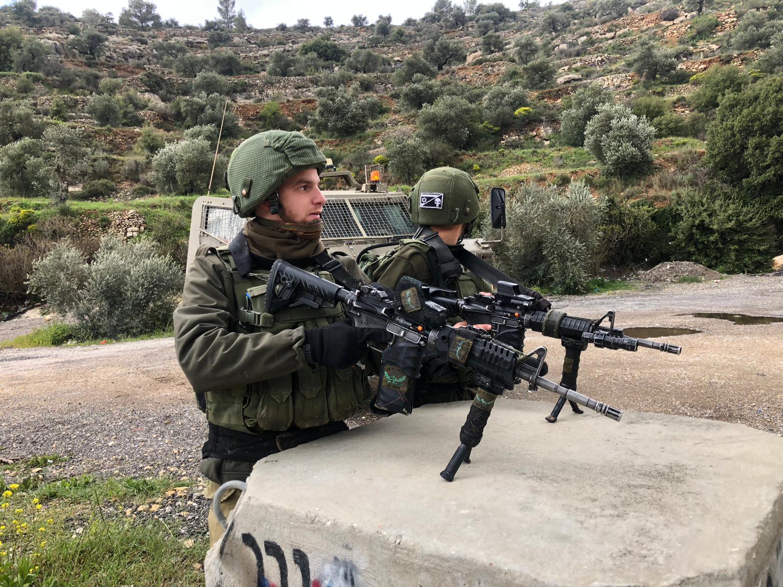 חיילים זירת פיגוע