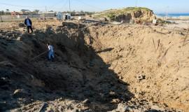 הפצצות חיל האוויר ברצועה כנגד תשתיות חמאס