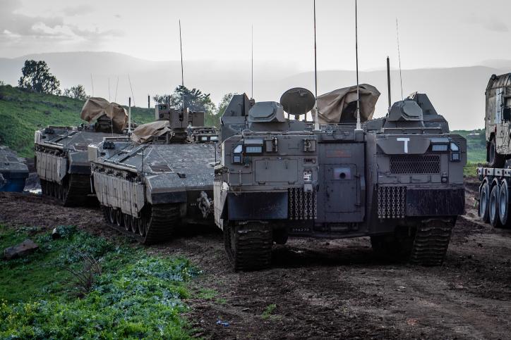 היערכות חיל השריון
