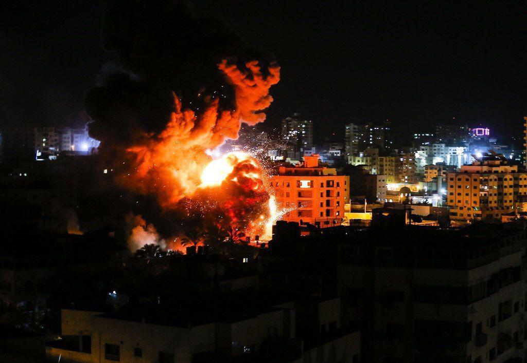 ההפצצות ברצועה