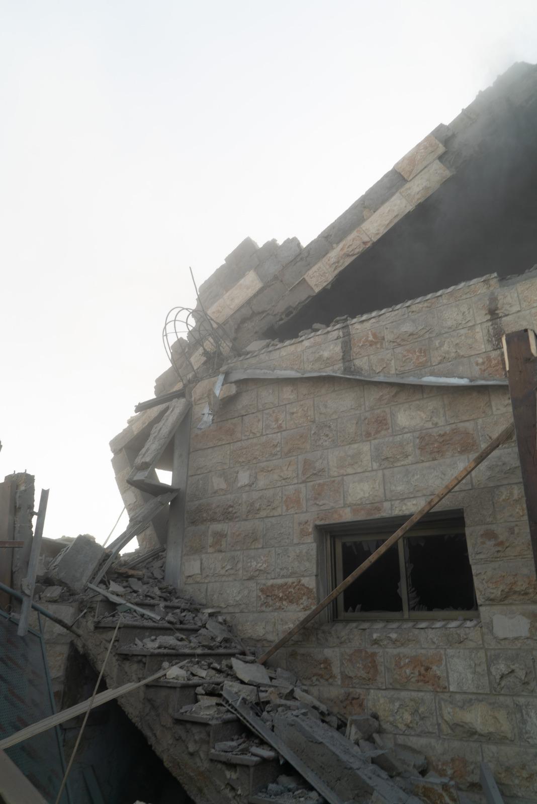 הרס בית מחבלים