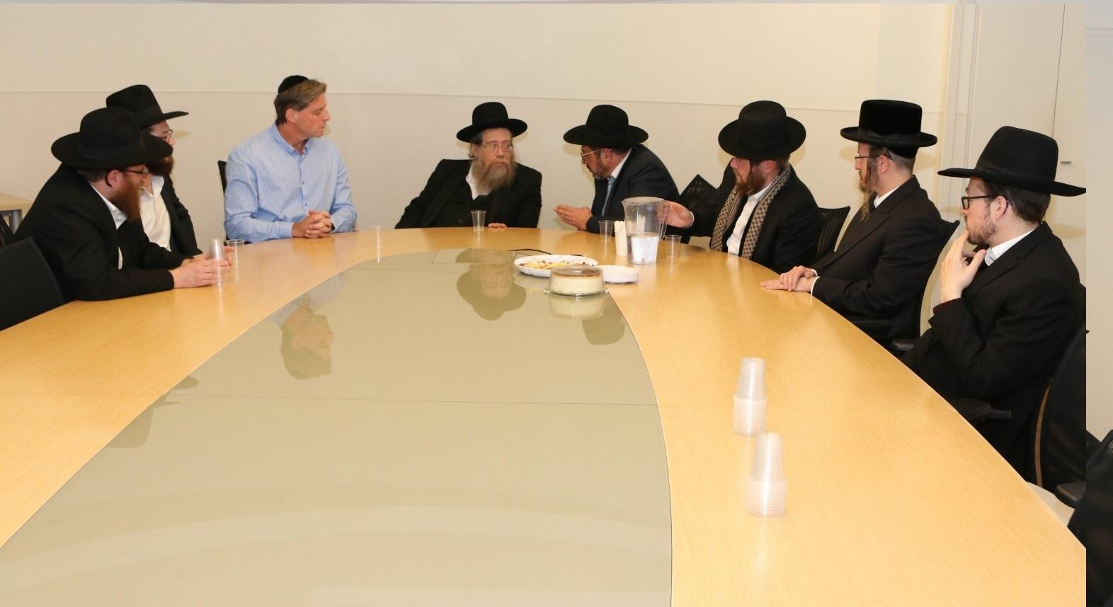 מכבי ירושלים והשפלה - ביקור רוזנבלנט (2)