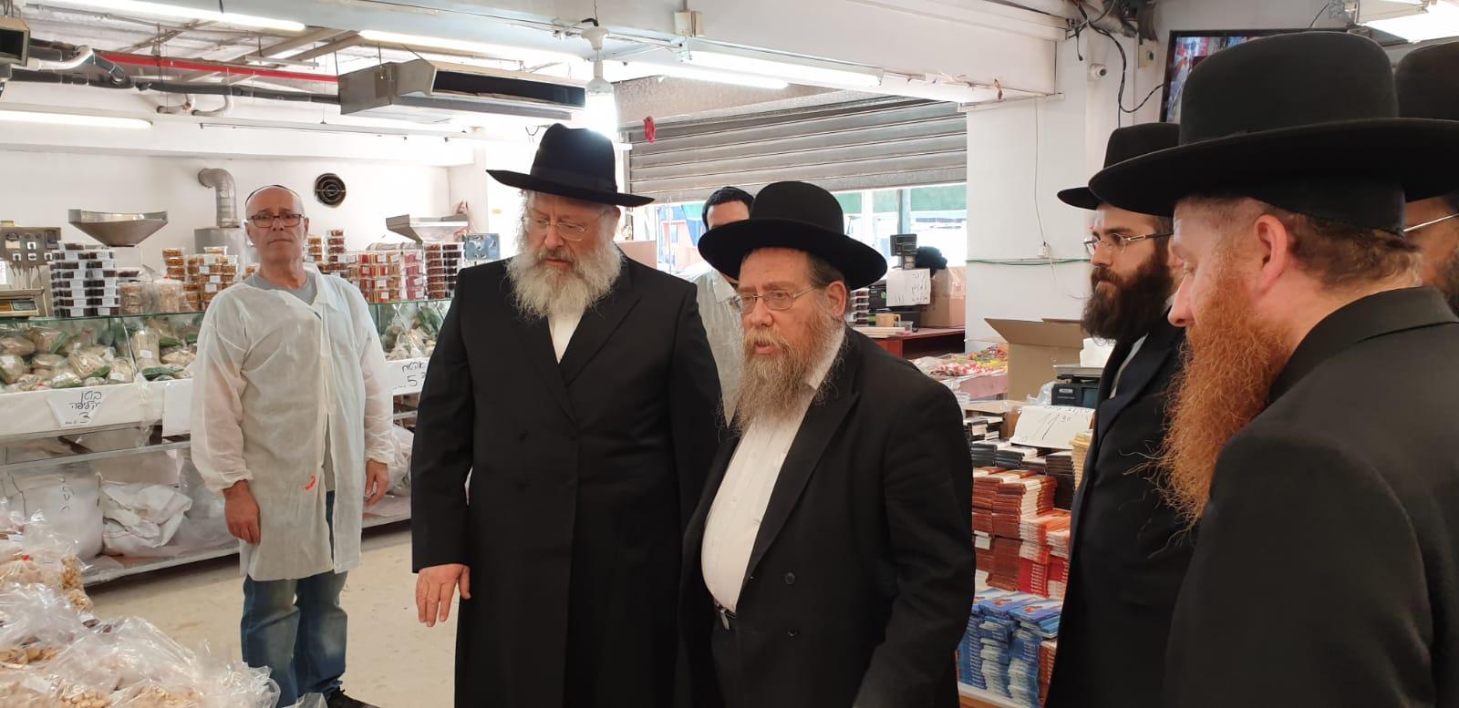 הרב רונזבלט והרב לנדא