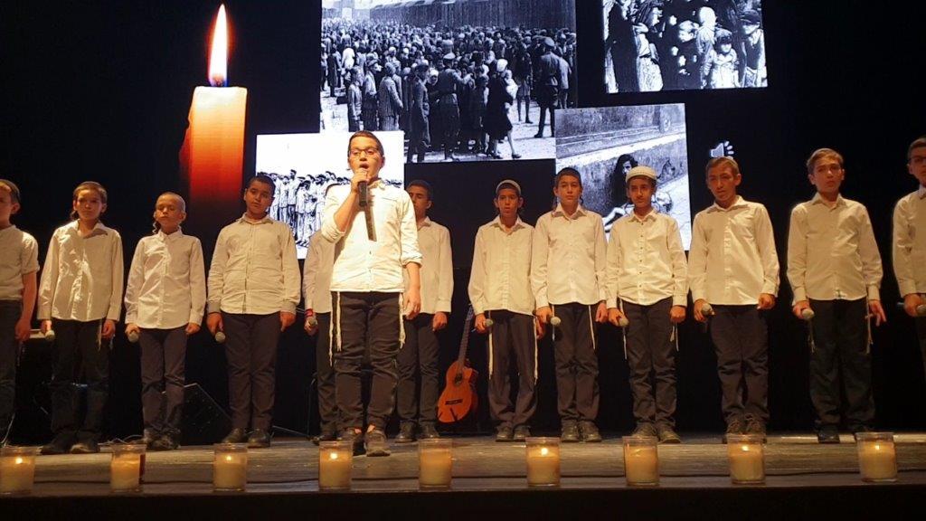 מקהלת ניצני התורה בטקס יום השואה תשע''ט
