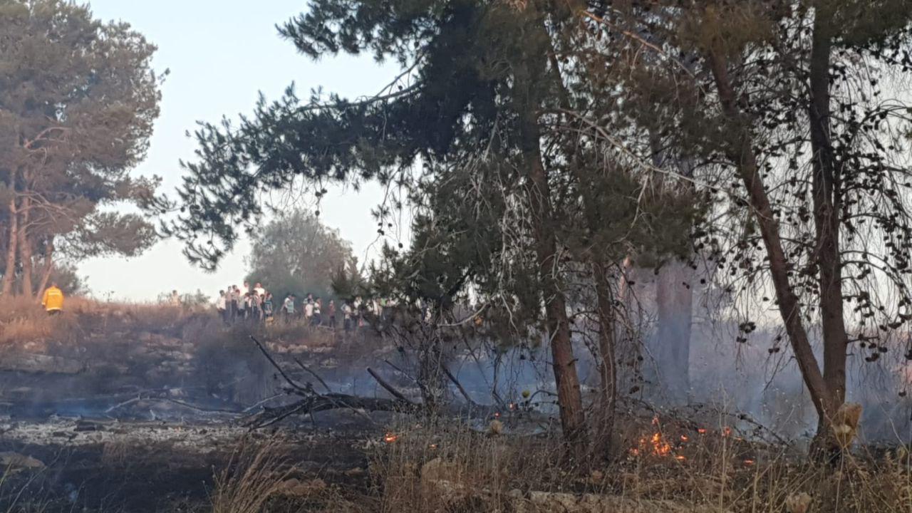השריפה באלעד