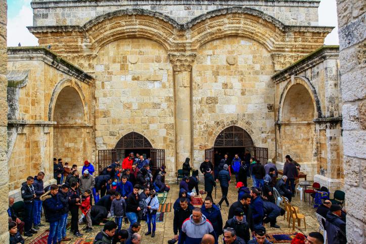 ההשתלטות הבלתי חוקית המוסלמית על שער הרחמים