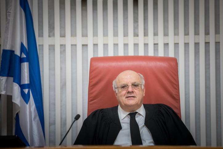 שופט העליון חנן מלצר