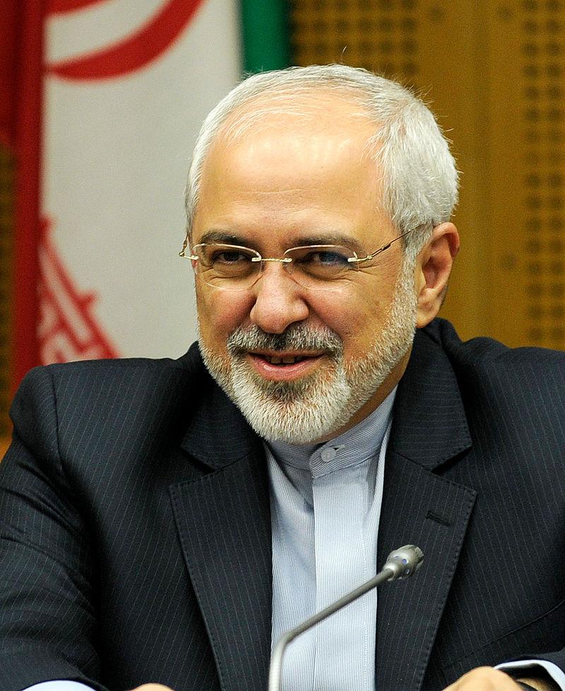 מוחמד זריף שר החוץ האיראני