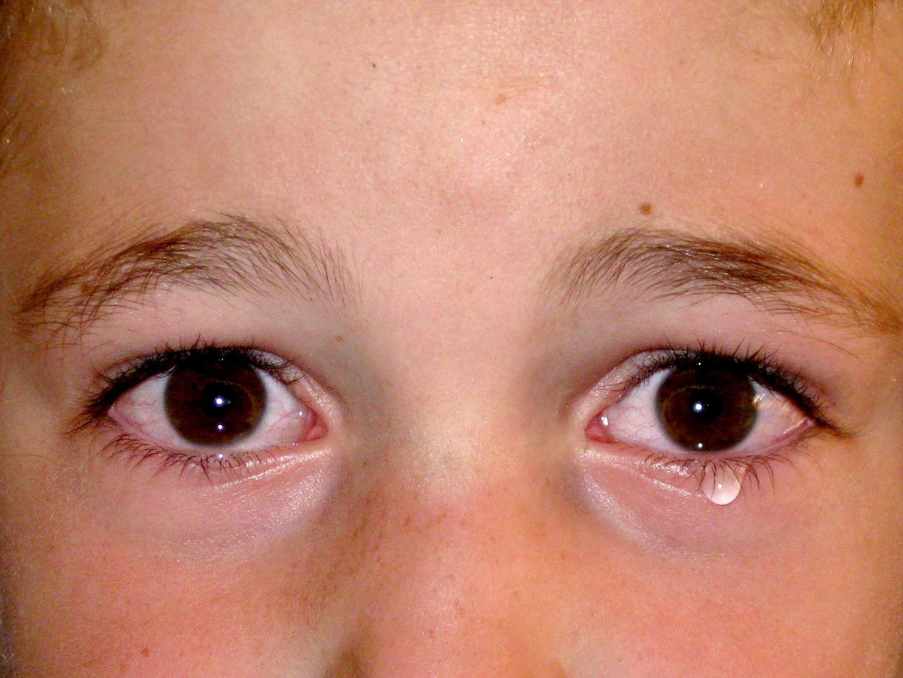 עיני עיני יורדה מים ילד בוכה