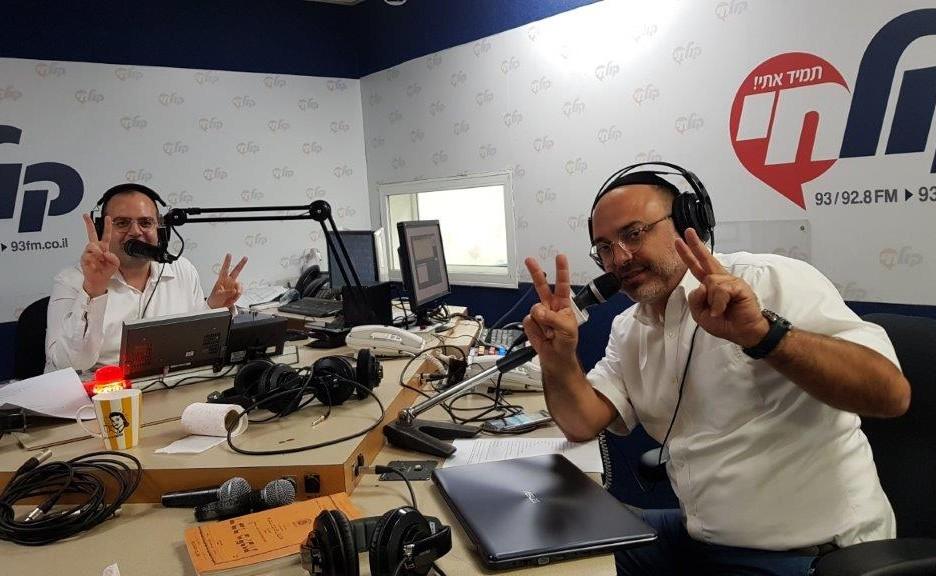 אלעד כהן ויהודה שוקרון טובים השניים צילום דוד קליגר