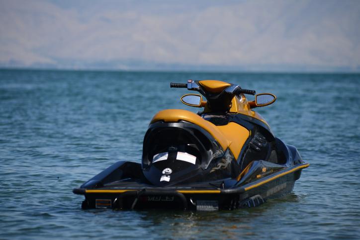 אופנוע ים. אילוסטרציה