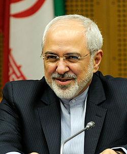 שר החוץ האיראני מוחמד ג'וואד זריף