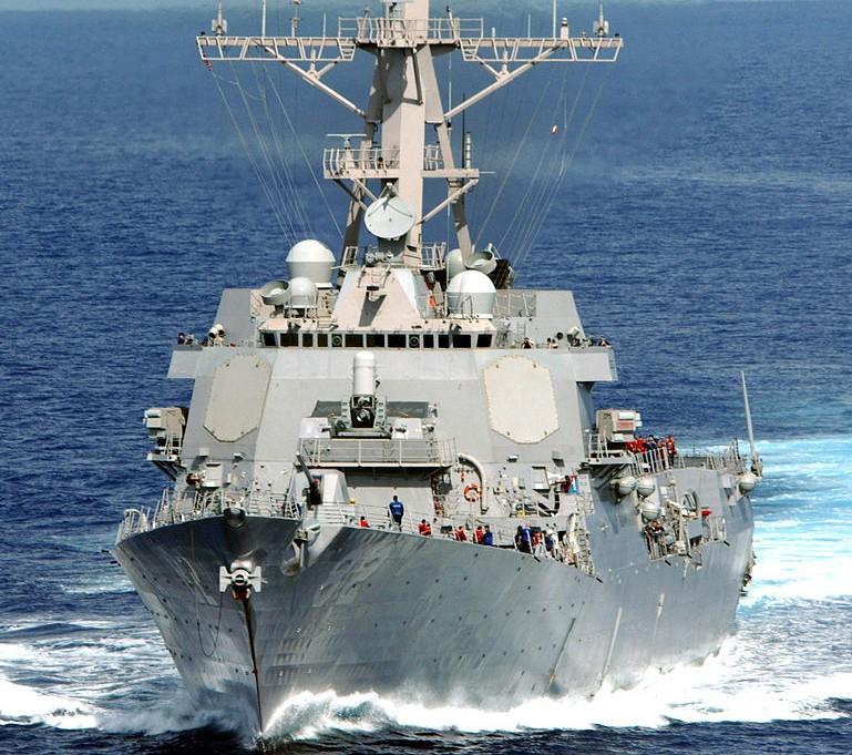 ספינת טילים אמריקנית