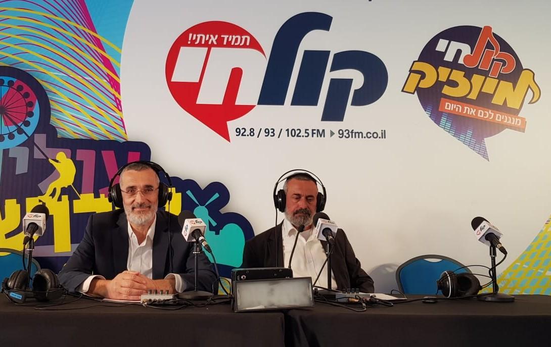 הרב צביקה כהן והרב בן לולו