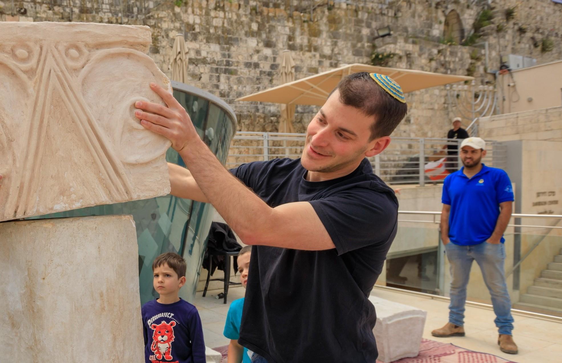 עיר דוד - תמונה 1 - (צילום אליהו יניא)