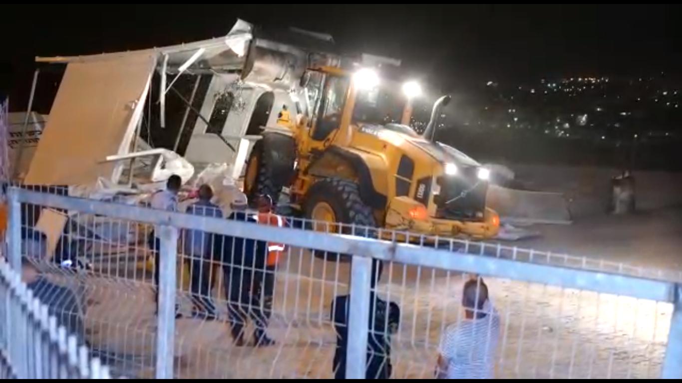 הרס בית הכנסת