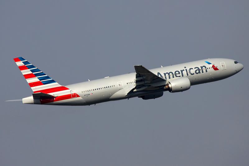מטוס בואינג של חברת אמריקן אייליינס