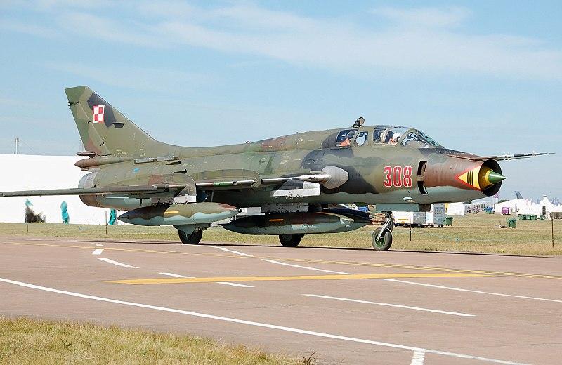 מטוס קרב סוחוי 22 הנמא בשימוש הצבא הסורי