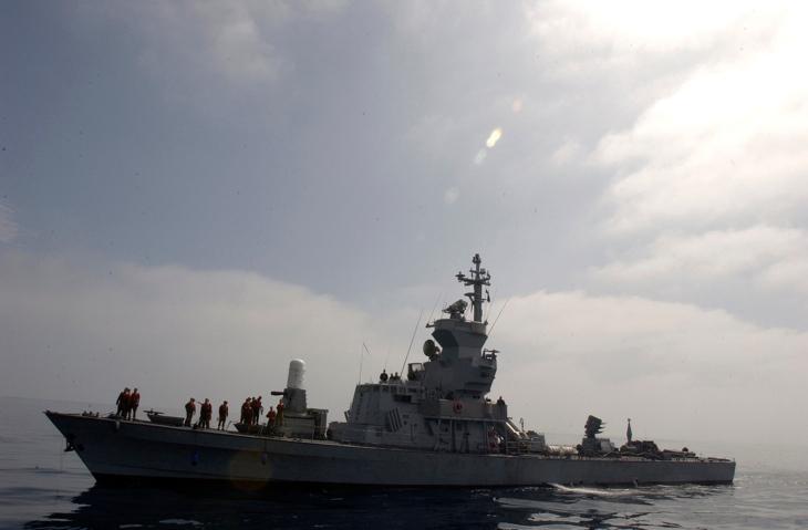 ספינת טילים ישראלית