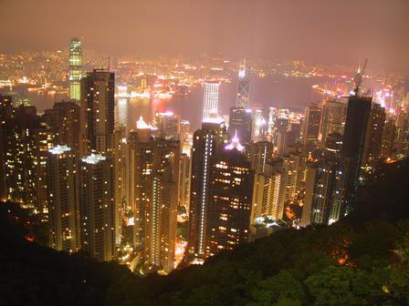 הונג קונג מבט מלמעלה