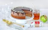 שמרית - עוגת מוס שוקולד דבש