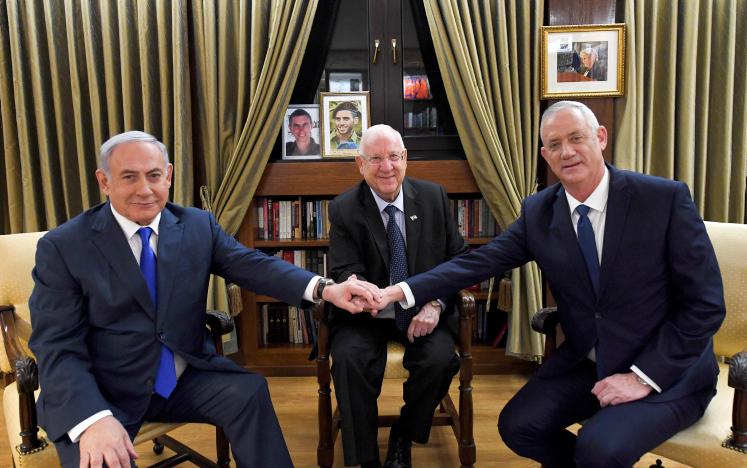 הפגישה הדרמטית בבית הנשיא