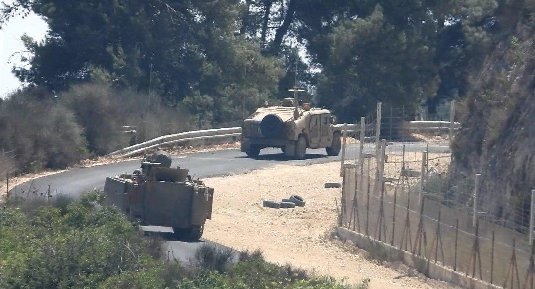 """כוחות צה""""ל בגבול לבנון היום"""